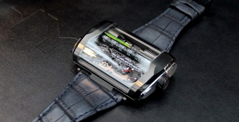 HYT H3 watch uses new hydro-electrical movement