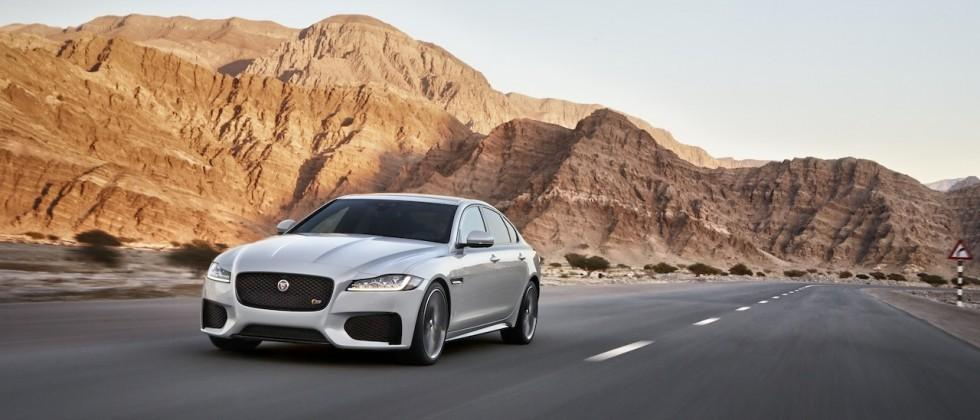 2016 Jaguar XF pairs low-weight and high-tech