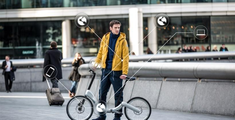 JIVR electric bike uses no chain and has 20 mile range
