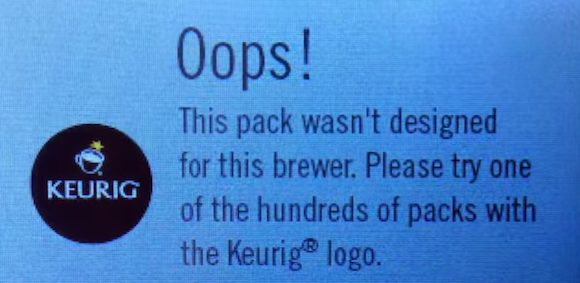 keurig-drm-warning