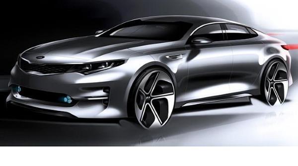 New Kia Optima renders betray curves, Sportspace look