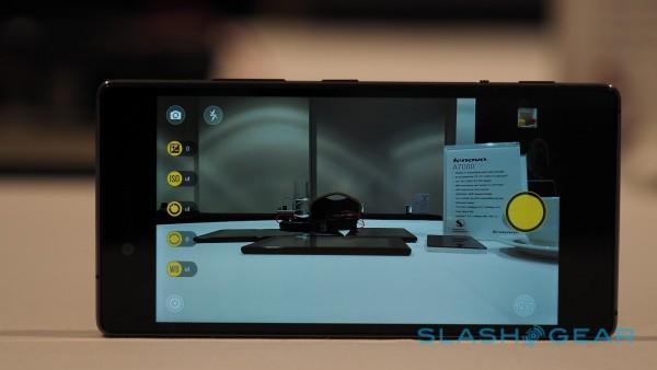 Lenovo Vibe Shot hands-on: a unique camera/phone - SlashGear