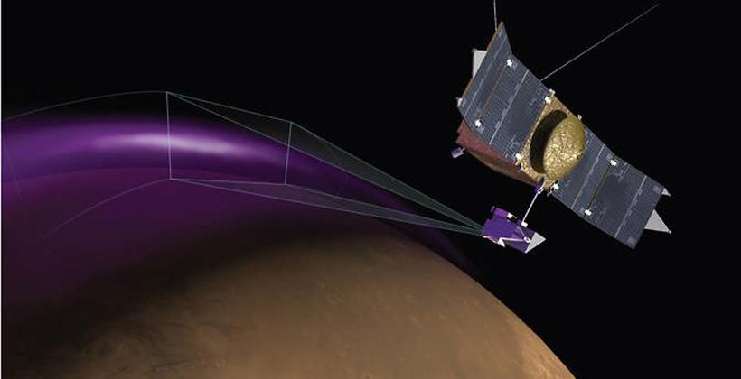 NASA's Maven spacecraft discovers aurora and dust cloud around Mars