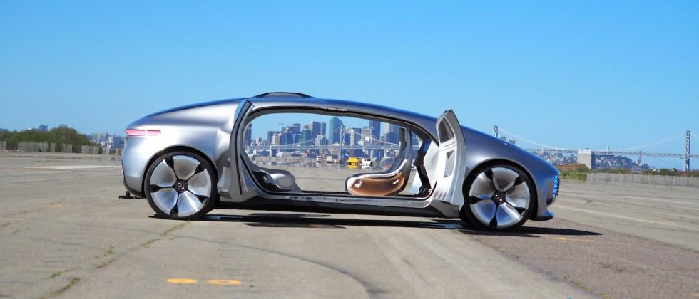 Mercedes F 015 >> Up Close With F 015 Mercedes Incredible Self Driving Car