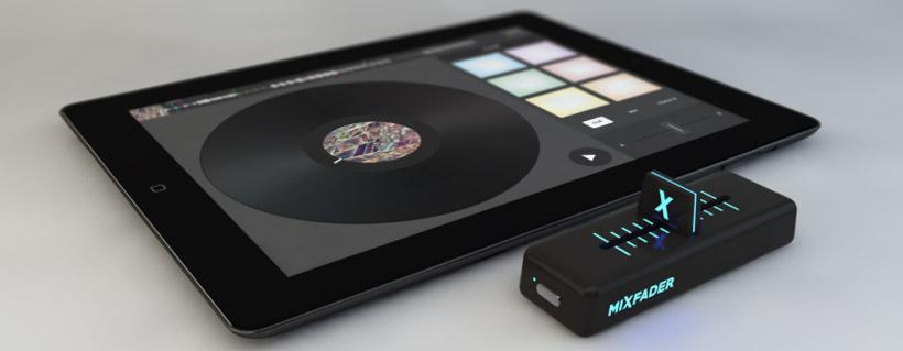 Mixfader wireless crossfader aims at digital DJs