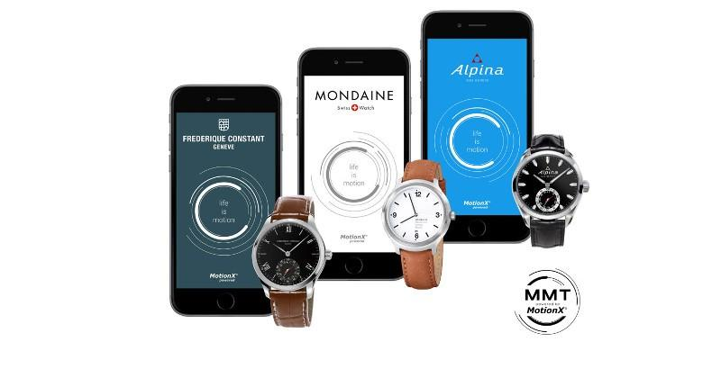 Swiss Horological Smartwatches tout MotionX activity tracking