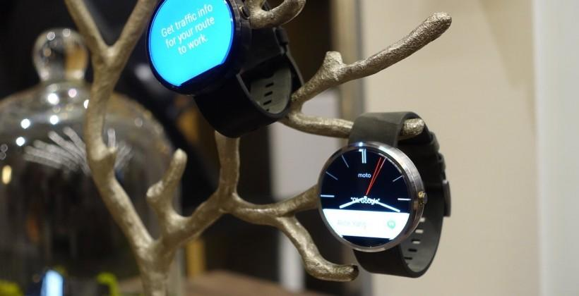 Moto 360 hits Moto Maker for custom smartwatch