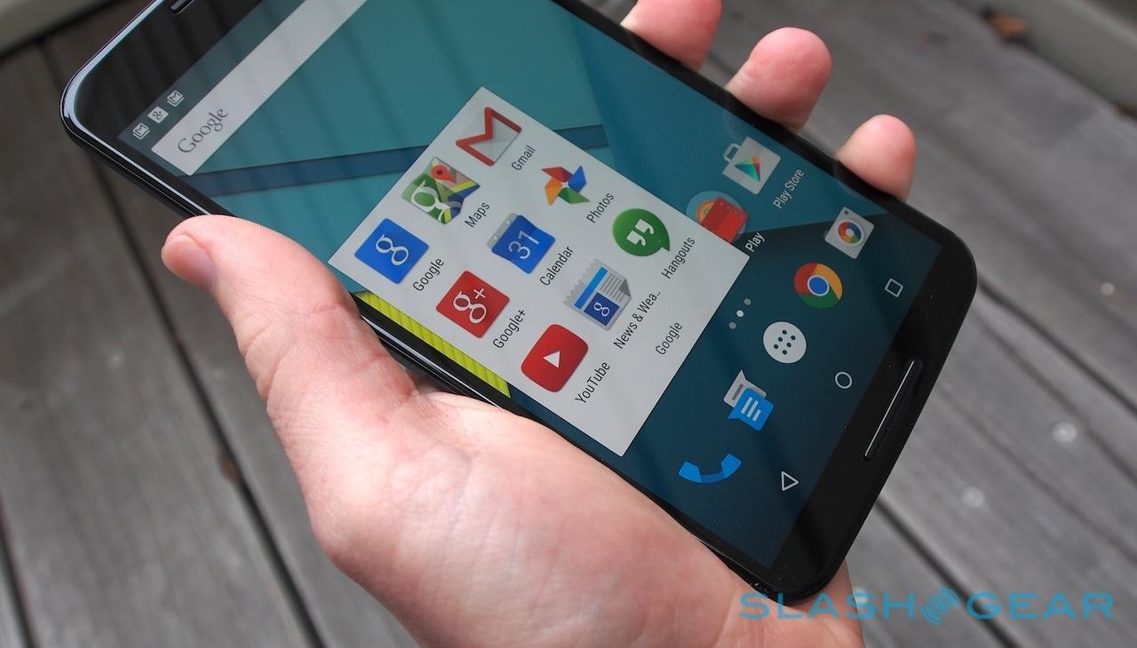 Carrier Apps Appear In Nexus 6 No Surprise Slashgear