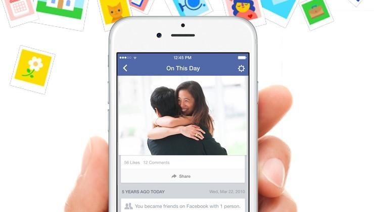 Facebook 'On This Day' brings nostalgia in fewer clicks