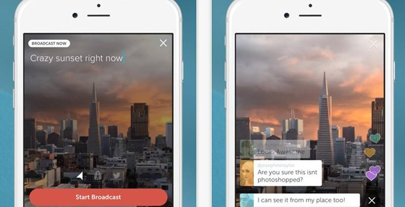 Periscope by Twitter app is ready for download on iOS