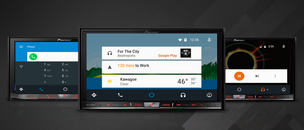 Android Auto hits the road as Pioneer upgrade options