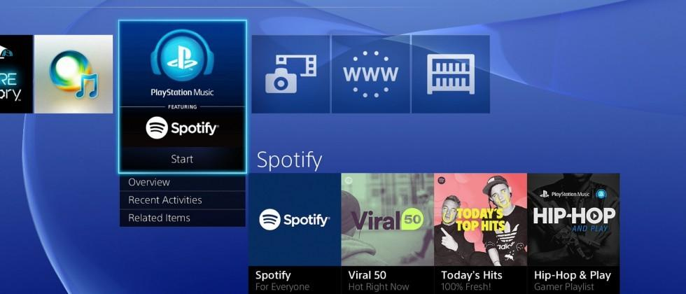 Spotify for PS4 and PS3 launches in 41 countries