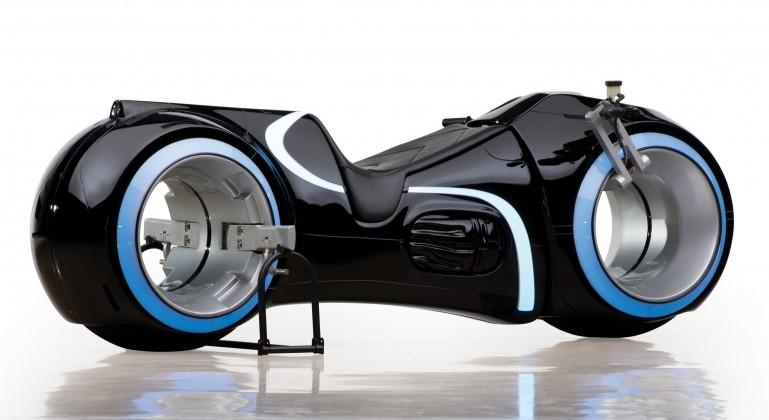 Functional electric TRON light cycle replica up for auction