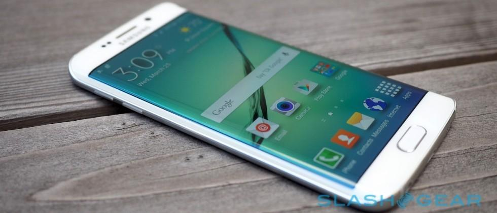 Galaxy S6 edge brutally slammed on the ground thrice, survives