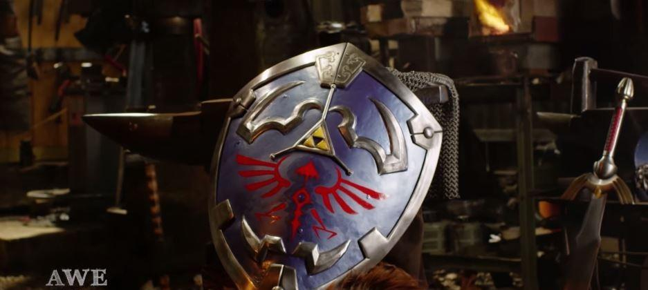 Man at Arms creates real-life version of Link's Hylian shield