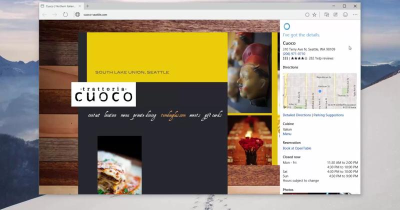Spartan browser, Cortana play nice in leaked Windows 10 vid