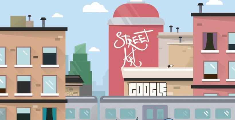 Google enters watch face market with Street Art