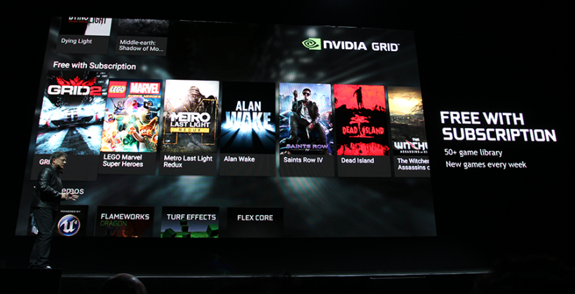 NVIDIA GRID Store revealed: Android side-by-side with Steam
