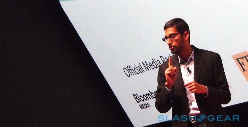 Sundar Pichai: Google has carrier plans, but think Nexus-scale