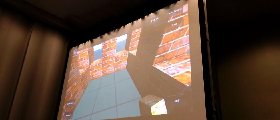 Google's Project Tango has a Minecraft demo, too