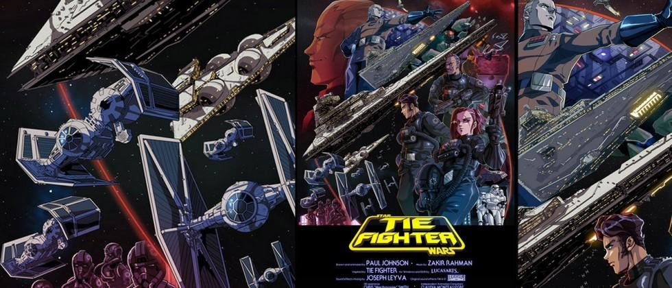 Tie Fighter Anime whets your appetite for Star Wars 7