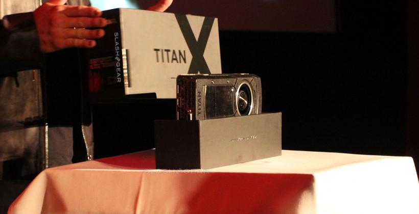 GeForce GTX Titan X detailed and priced by NVIDIA