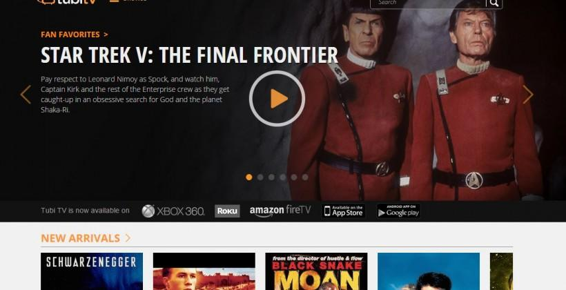 Tubi TV scores load of movies in Paramount deal