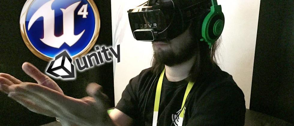 Open Source Virtual Reality gets massive with Unity and Unreal Engine