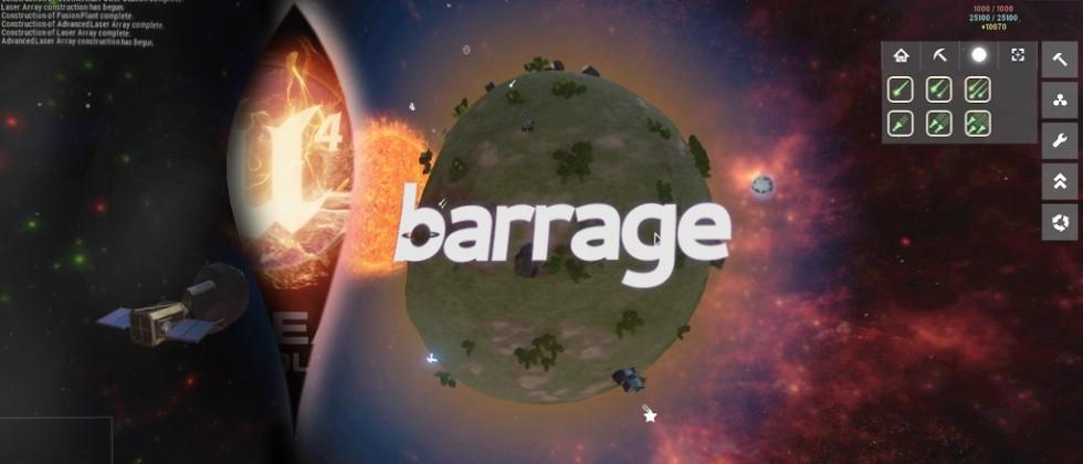 Barrage shares months of process working with Unreal Engine