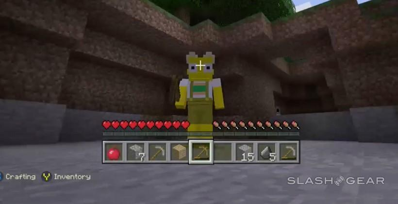 Minecraft Simpsons Skins mini-Review