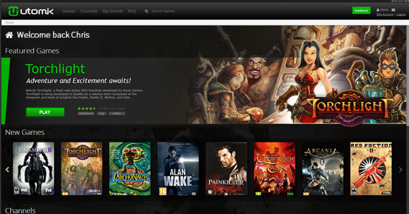 Utomik cloud gaming service promises a lag-free experience