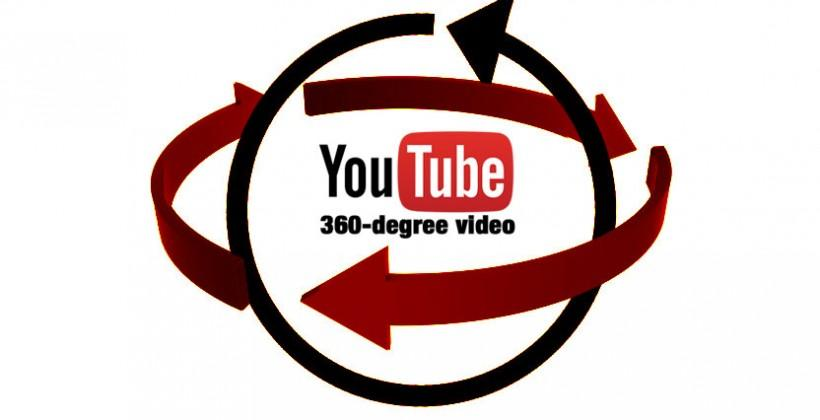 YouTube 360-degree video activated, ripe with VR potential