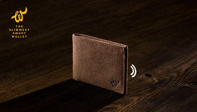 Woolet smart wallet barks so you won't lose it
