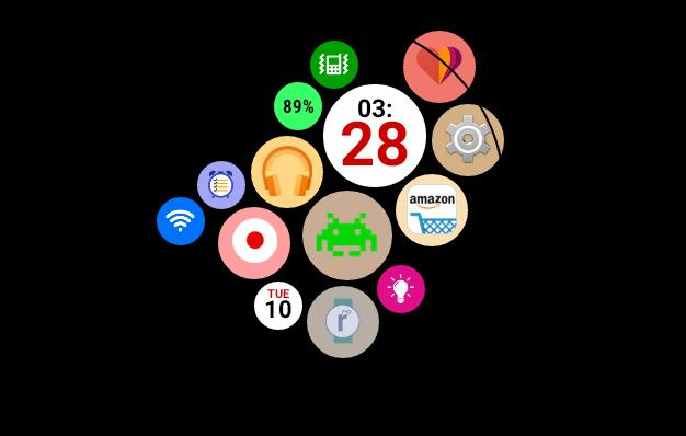 Android Wear apps try to replicate Apple Watch launcher