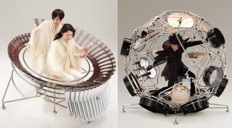 Yamaha bike designers cook up some odd musical instruments