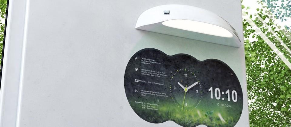 Coolest Clock is a smartphone-connected projection clock
