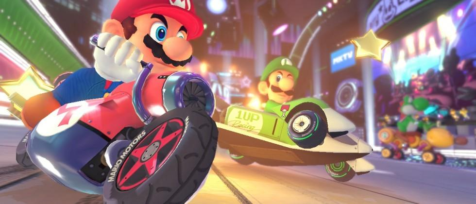 Mario Kart 8 gets a new DLC pack and a speed boost at 200cc!