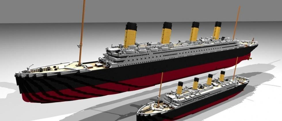 Latest Lego Ideas kit, Titanic could be most massive yet
