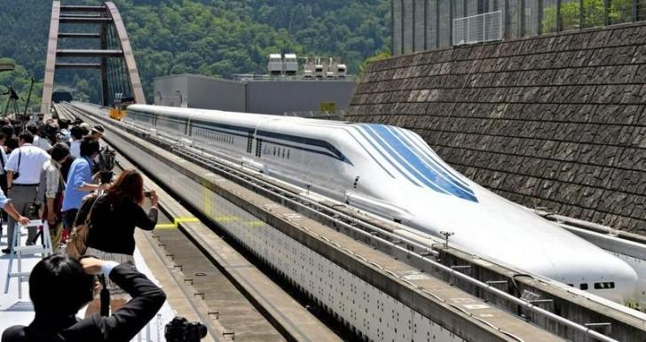 Japan's new maglev bullet train is now the fastest in the world