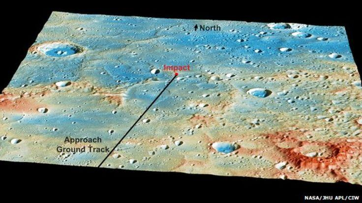 NASA Messenger mission comes to an end, crashes into Mercury
