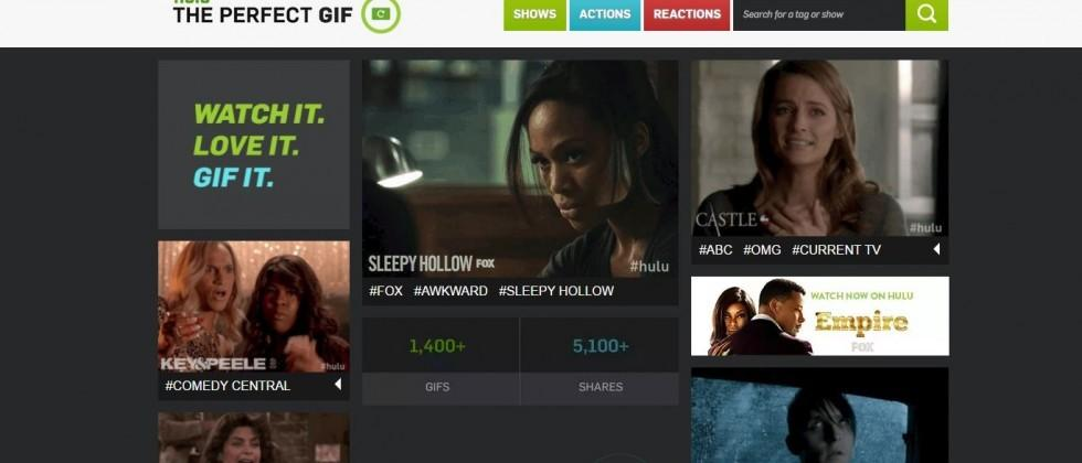 Hulu introduces GIF collection to meet (mostly) any need