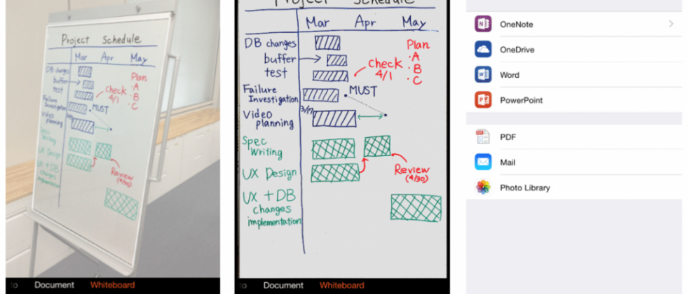 Microsoft's scanner app, Office Lens, lands on iOS & Android