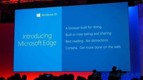 Project Spartan is now 'Edge', and will have Chrome extensions