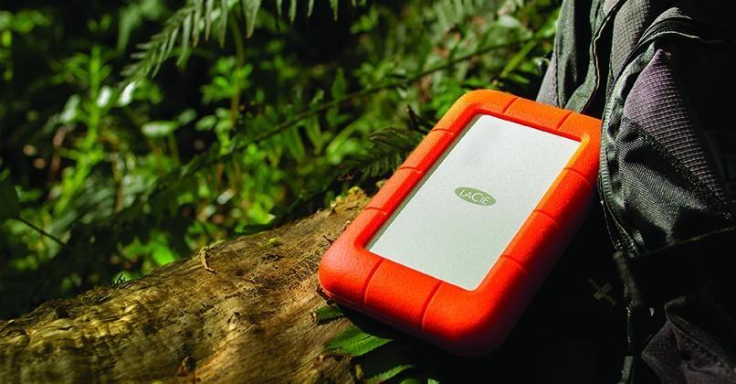 LaCie Rugged Thunderbolt portable drive sports 1TB SSD