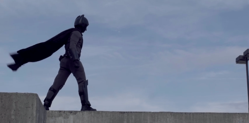 Designer makes (nearly) combat-ready Batsuit