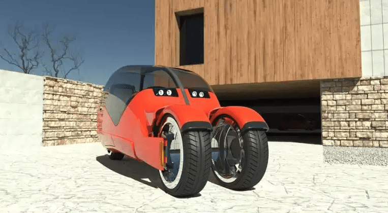 Lane Splitter car concept transforms into a pair of motorcycles
