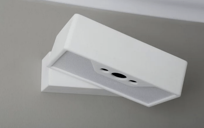 Wakē alarm targets only one sleeper with a beam of light, sound