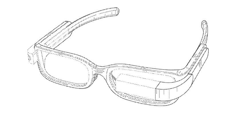 Google Glass patent shows split hardware, 'normal' form-factor