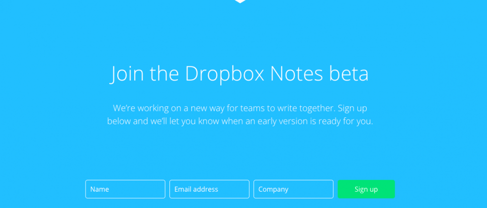 Dropbox Notes beta arrives as Evernote competitor