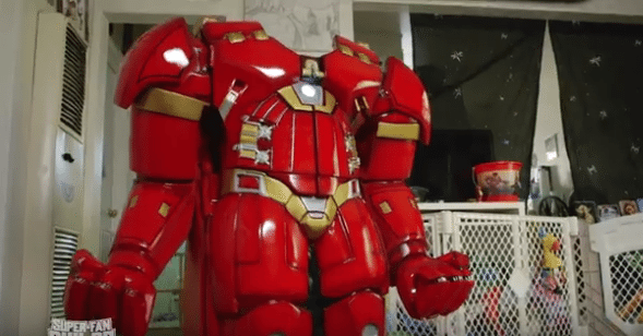 Hulkbuster high chair makes dinner time unbeatable